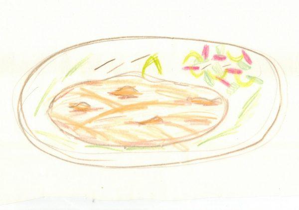 Chapati mit Gemüse
